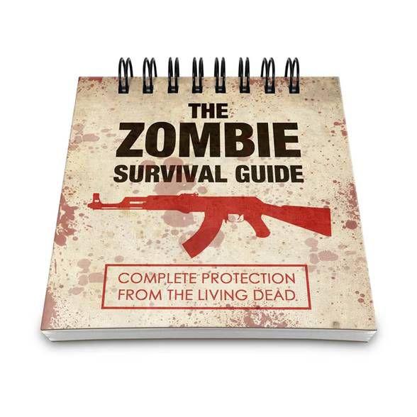 Bloco de Anotações The Zombie Survival Guide