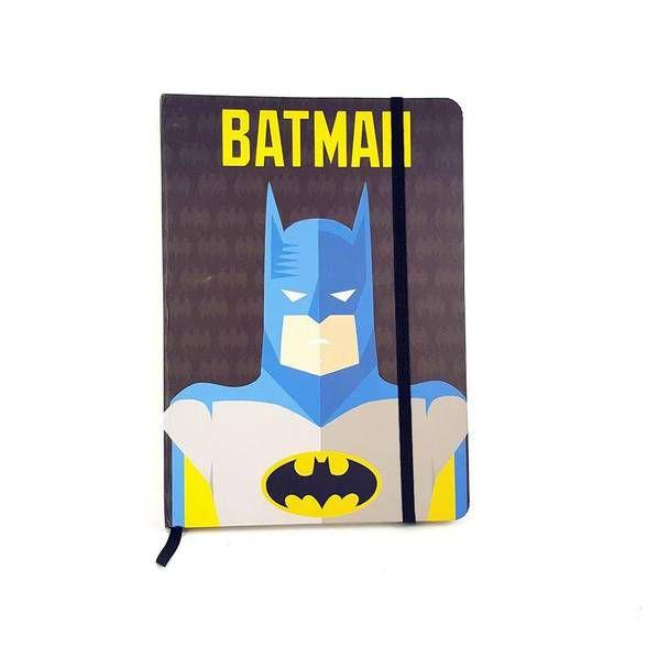 Caderneta de Anotação Batman