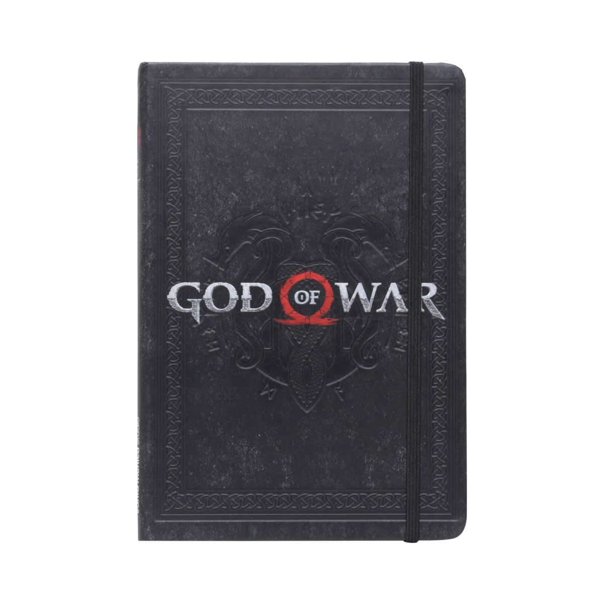 Caderneta De Anotação God Of Wars Logo Gow