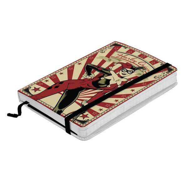 Caderneta de Anotação listrada Arlequina