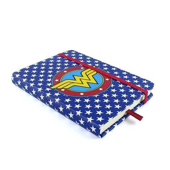 Caderneta de Anotação Logo Mulher Maravilha