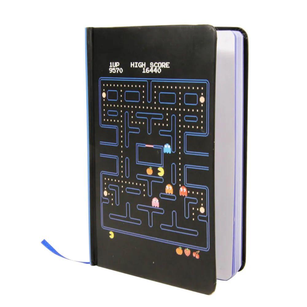 Caderno Capa Dura Pac-Man
