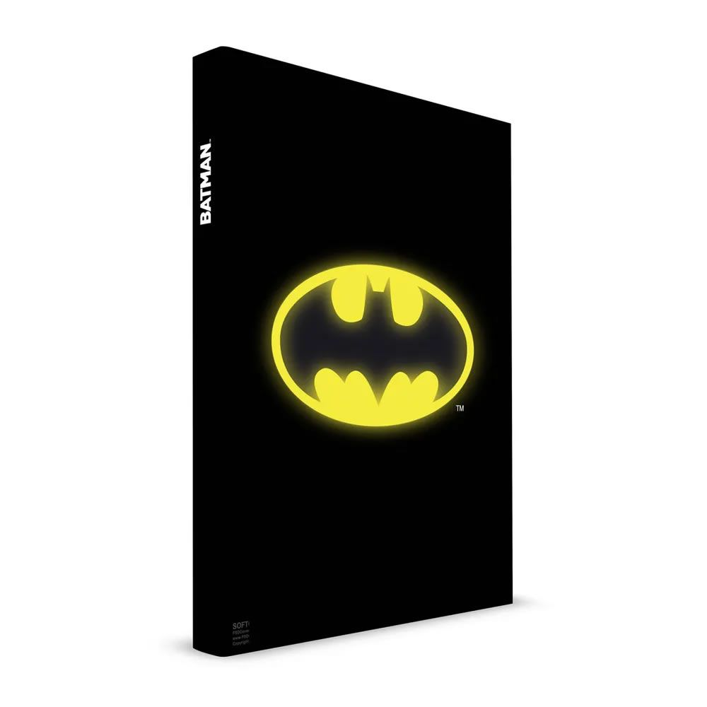 Caderno com Luz Batman