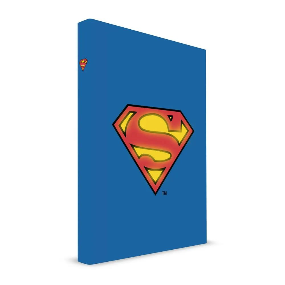 Caderno com Luz SuperMan