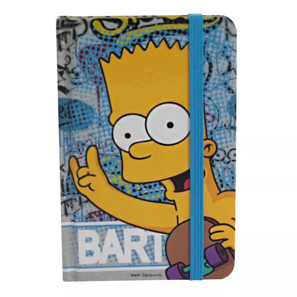 Caderno de Anotações Bart Simpson