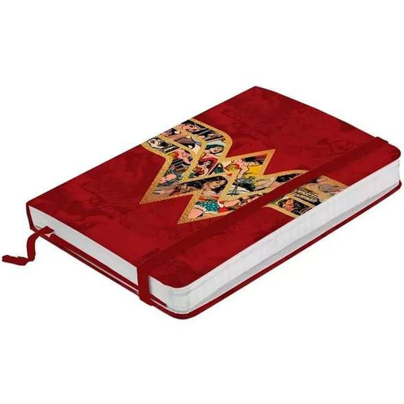 Caderno de anotações Mulher Maravilha Movie Logo