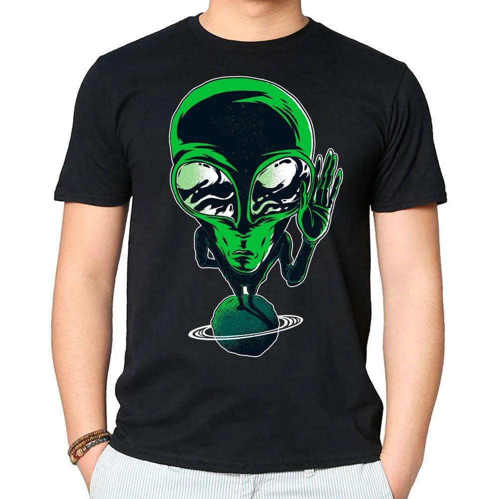Camiseta Alien ET Preta