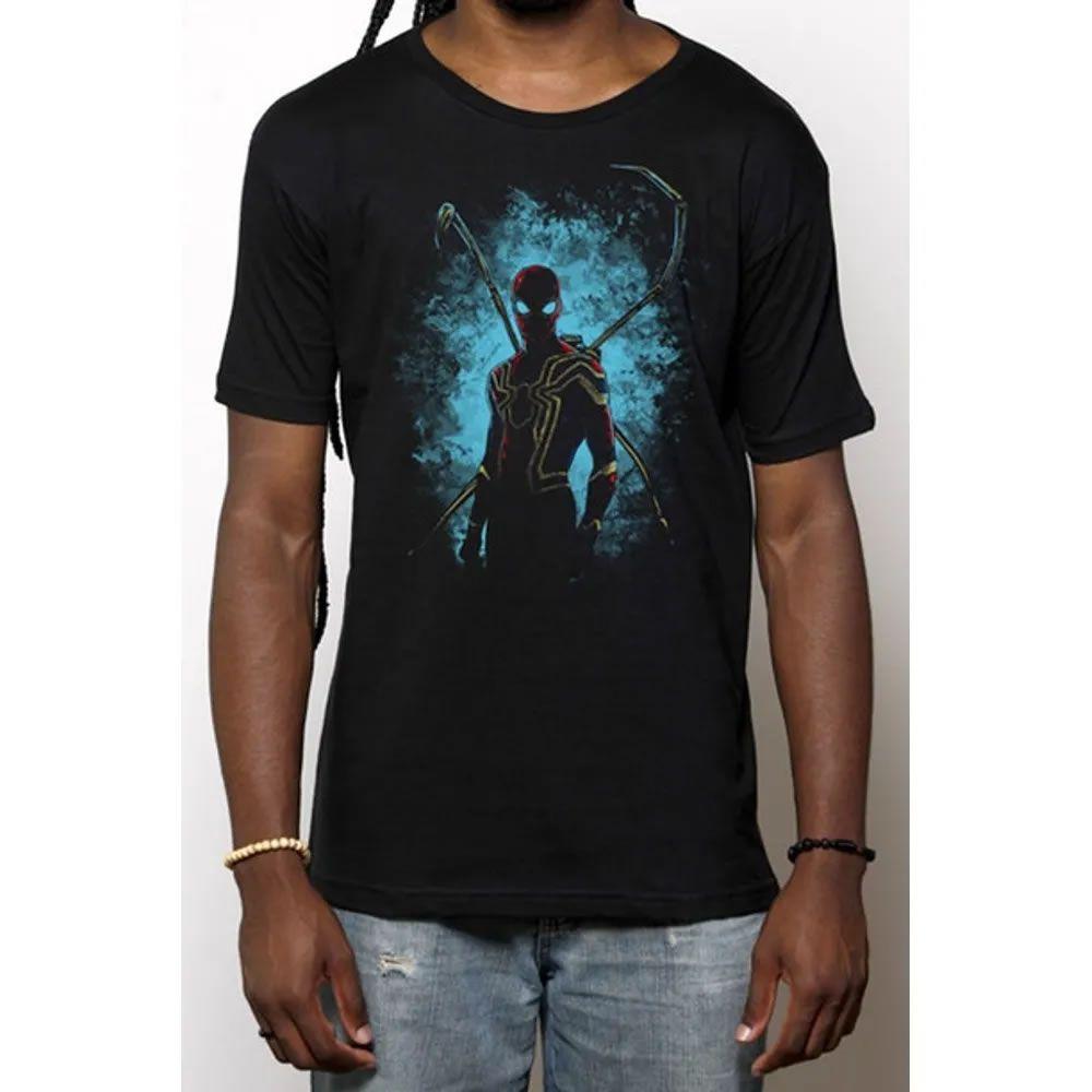 Camiseta Aranha de Ferro