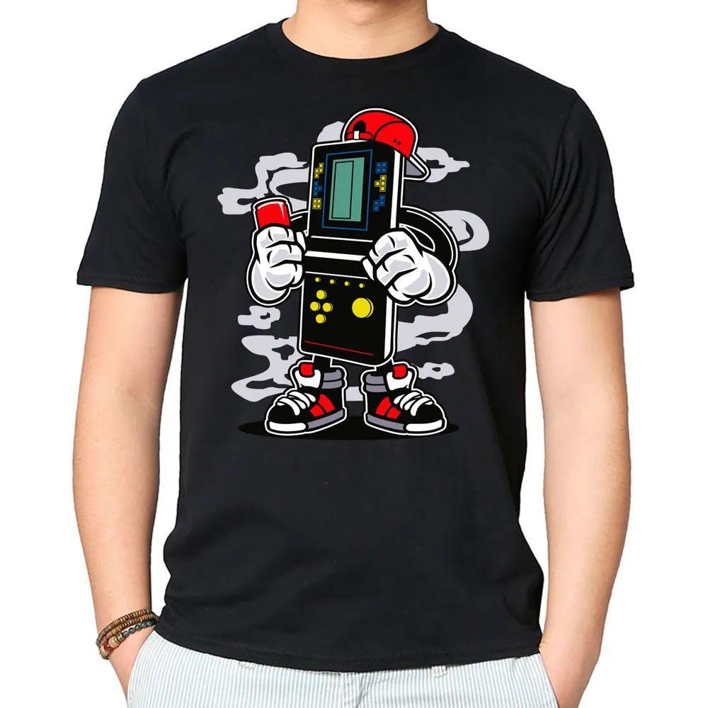 Camiseta Brick Gamers Preta