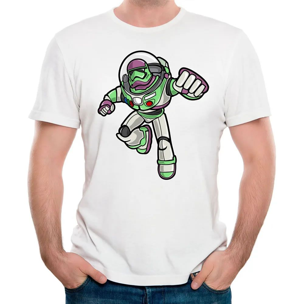Camiseta Buzz Trooper Branca