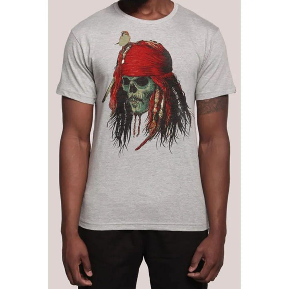 Camiseta Capitão Jack cinza