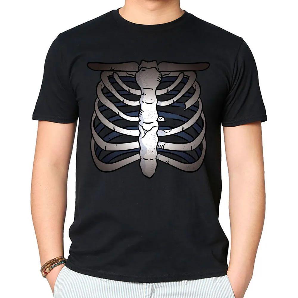 Camiseta Caveira Esqueleto