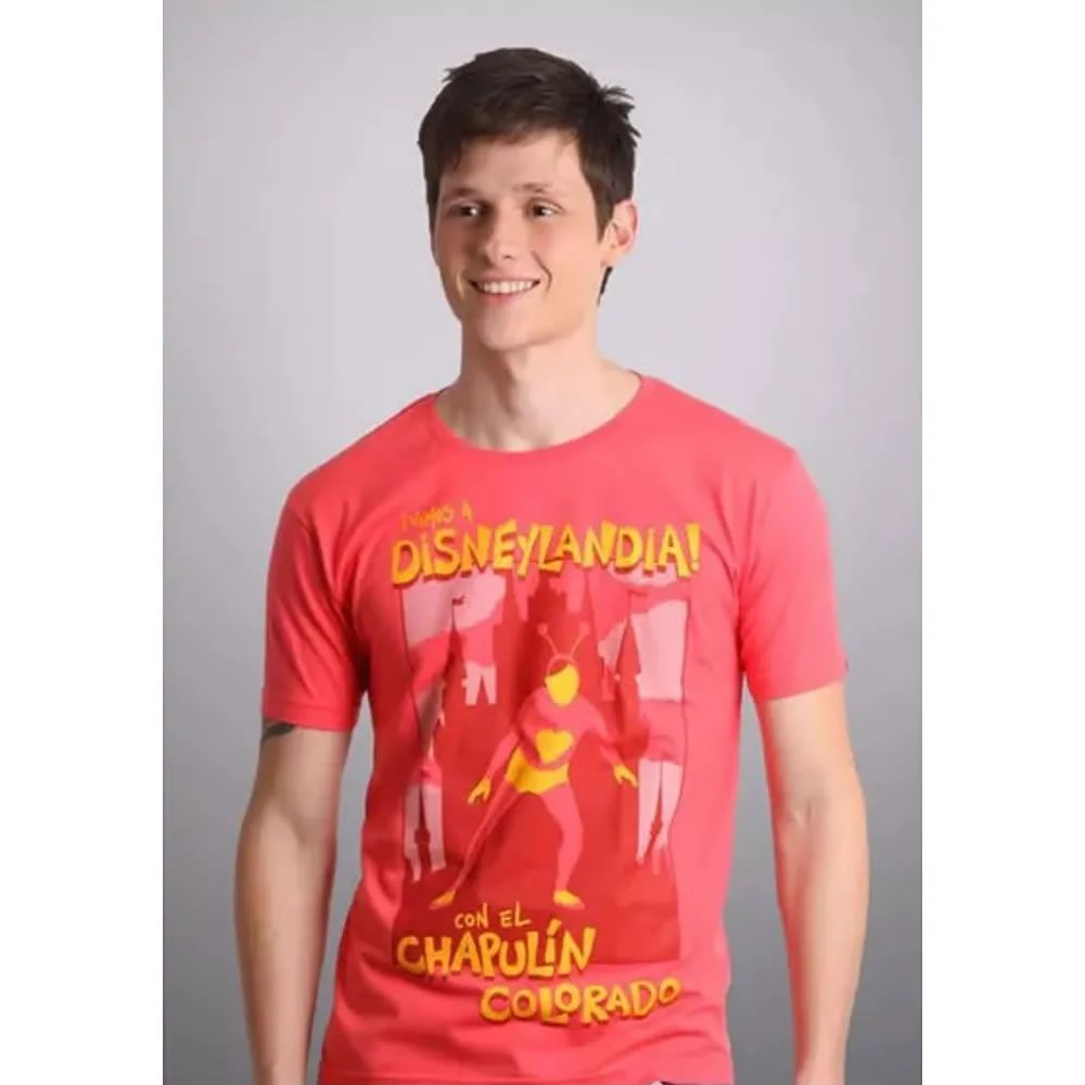 Camiseta Chapolim Disneylândia