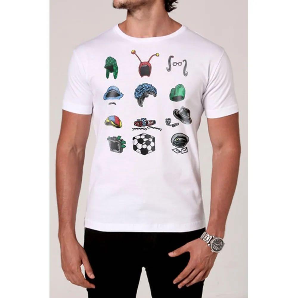 Camiseta Chaves Lembranças da Vila
