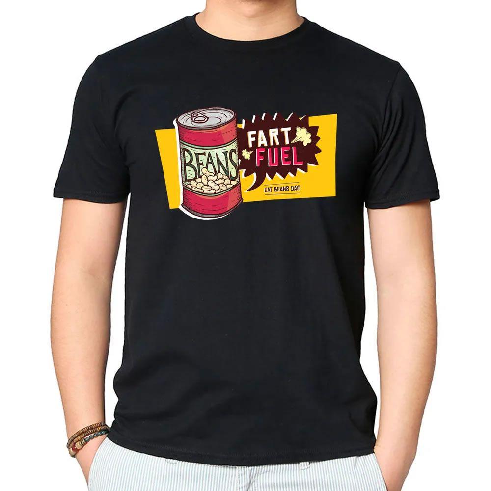 Camiseta Coma Feijão Todos os Dias Preta