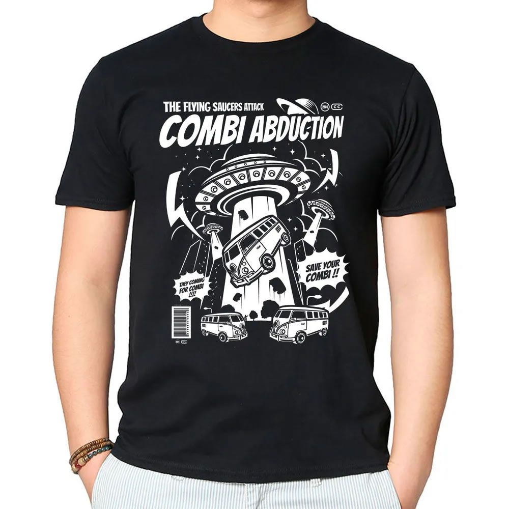 Camiseta Combi Abduction Preta
