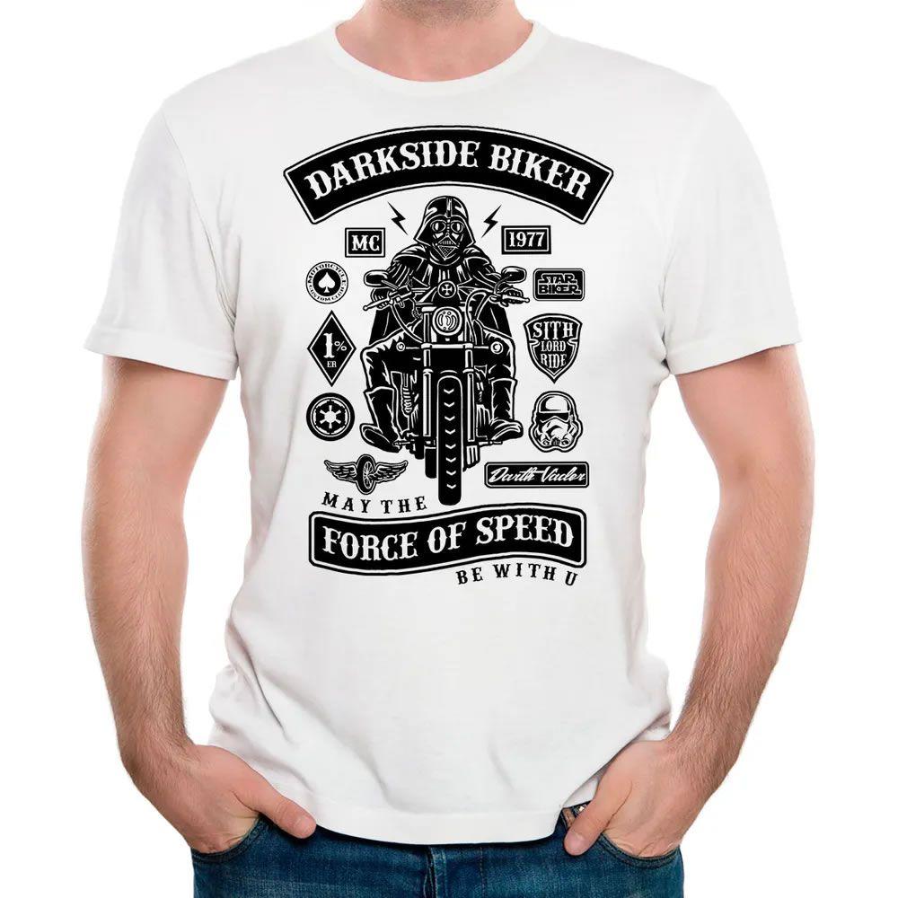 Camiseta Darkside Biker Branca