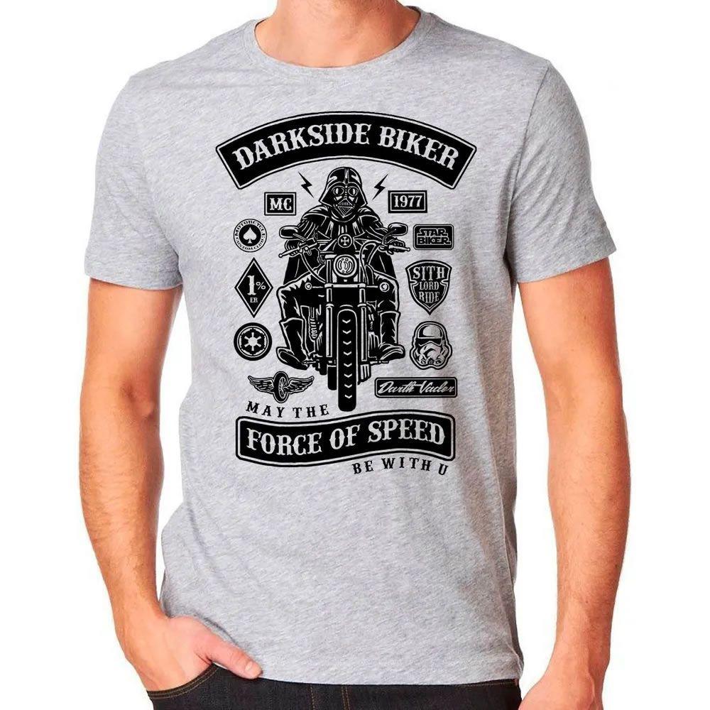 Camiseta Darkside Biker Cinza