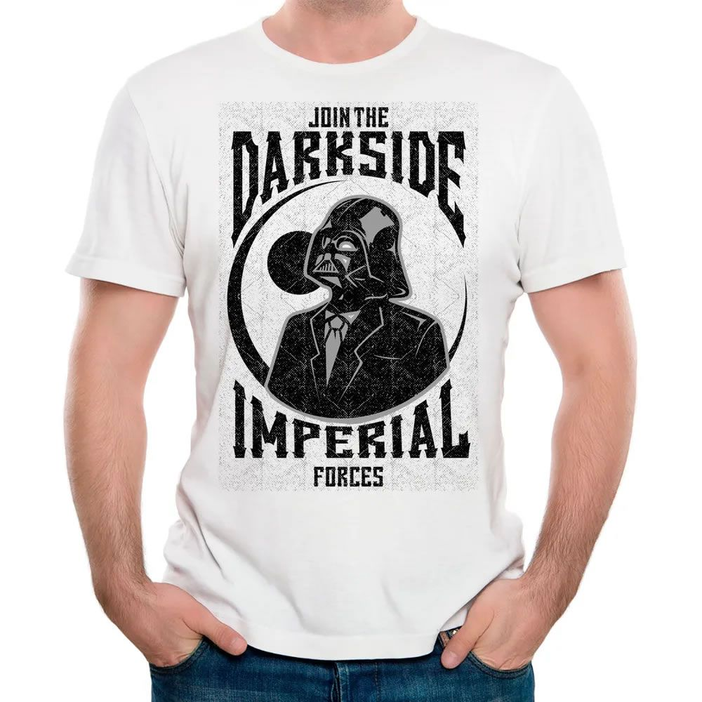 Camiseta Darkside Branca
