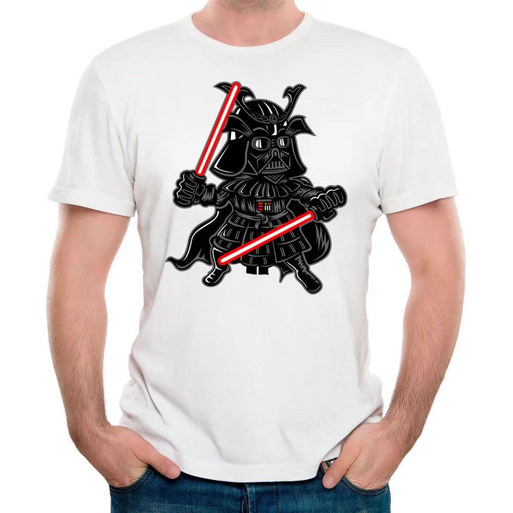 Camiseta Darkside Samurai Branca