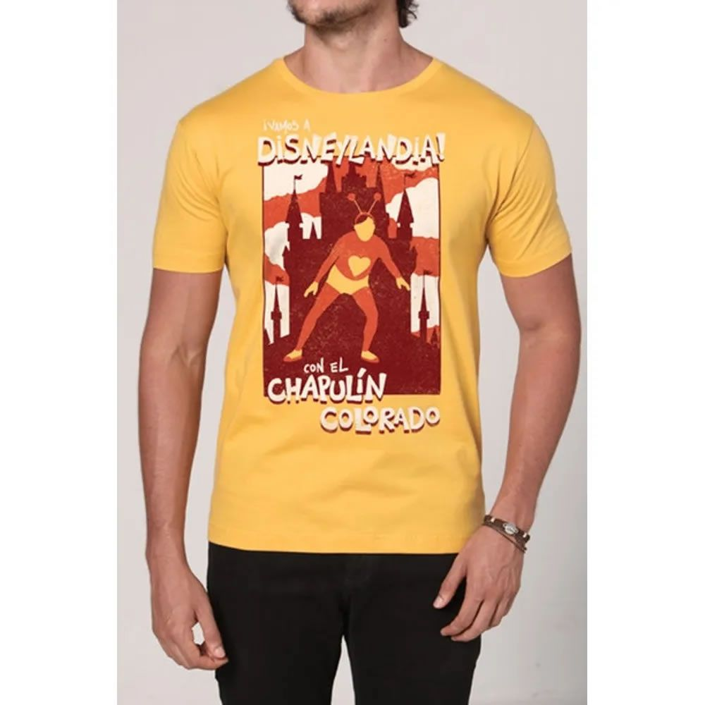 Camiseta Disneylândia Amarela
