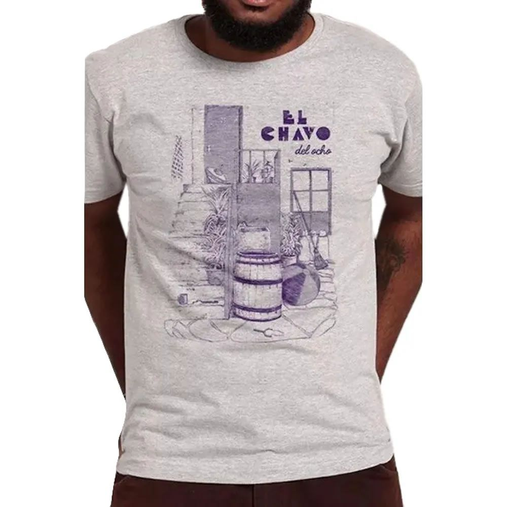 Camiseta El Chavo Cinza