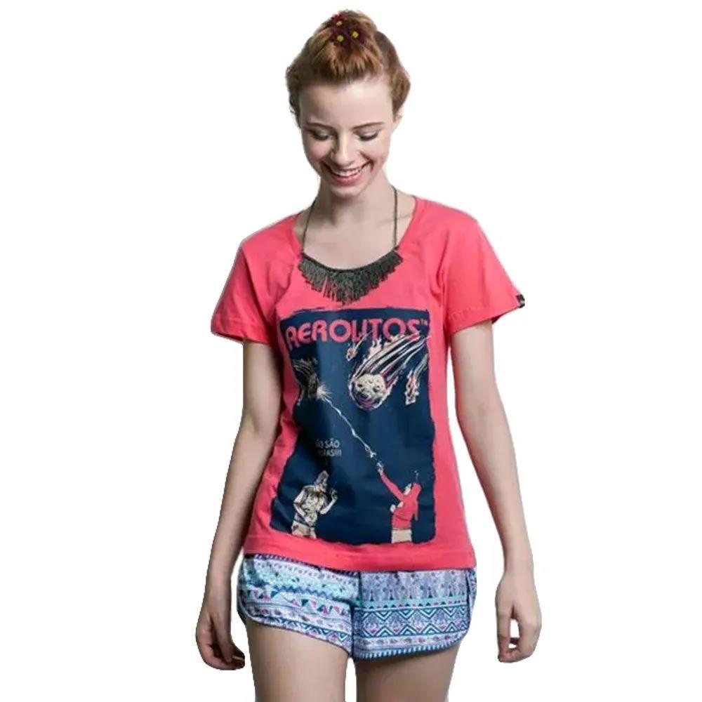Camiseta Feminina Aerolitos