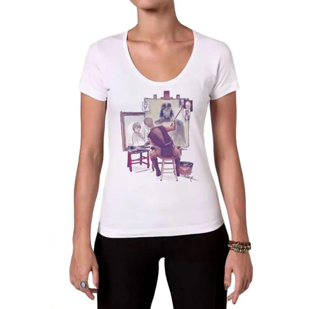 Camiseta Feminina Anakin's Portraits