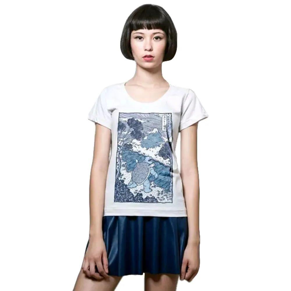 Camiseta Feminina Blastoise