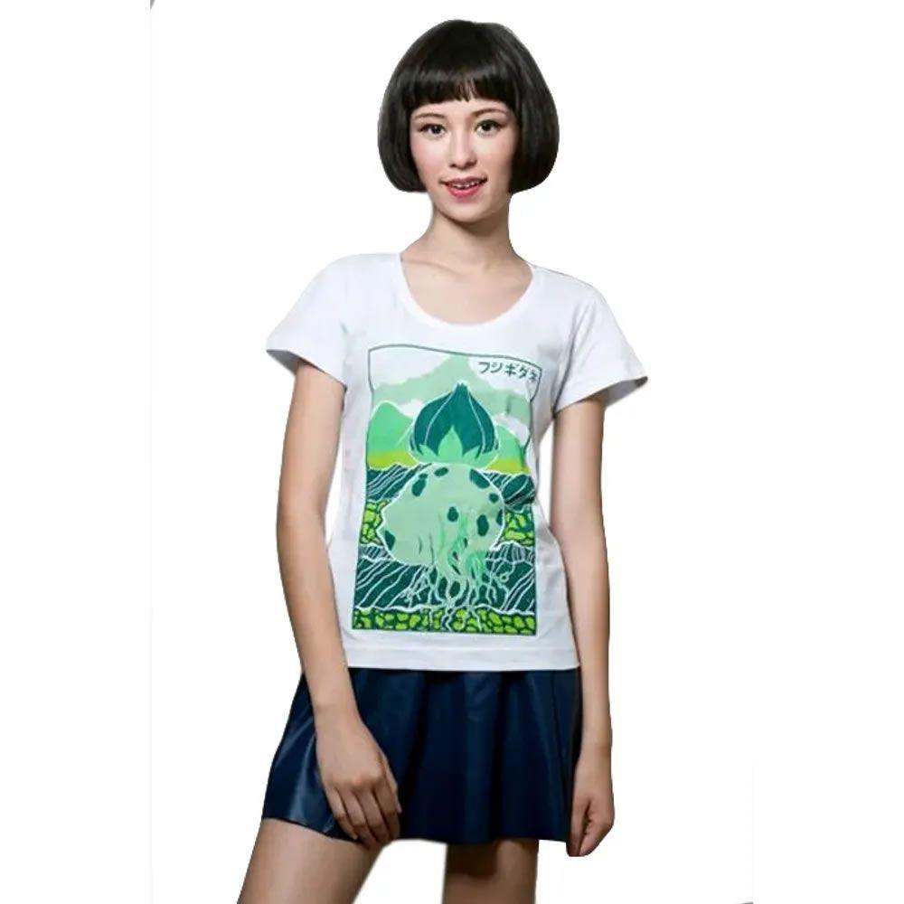 Camiseta Feminina Bulbasaur