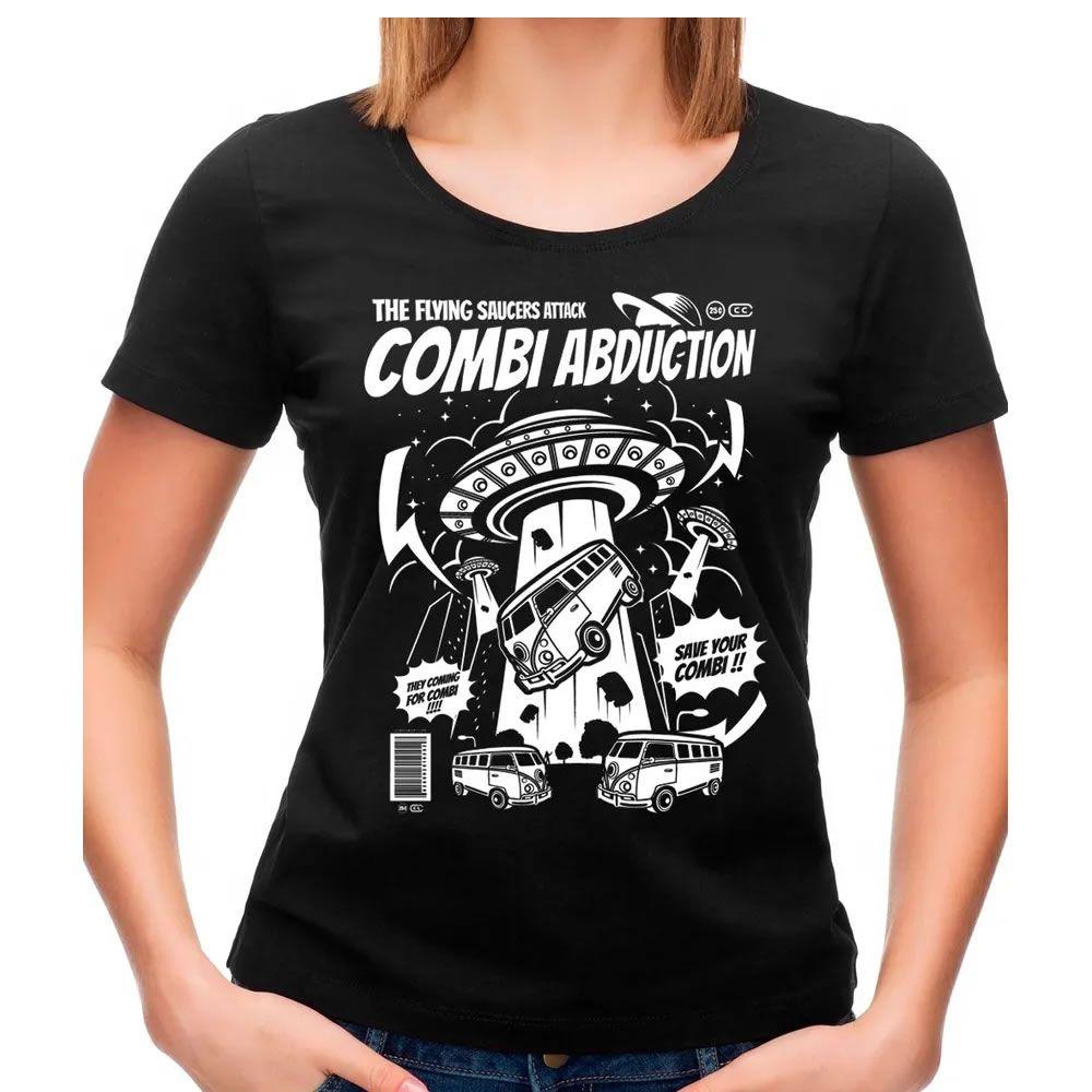 Camiseta Feminina Combi Abduction Preta