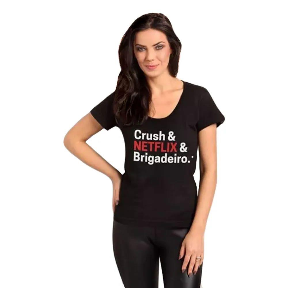 Camiseta Feminina Crush