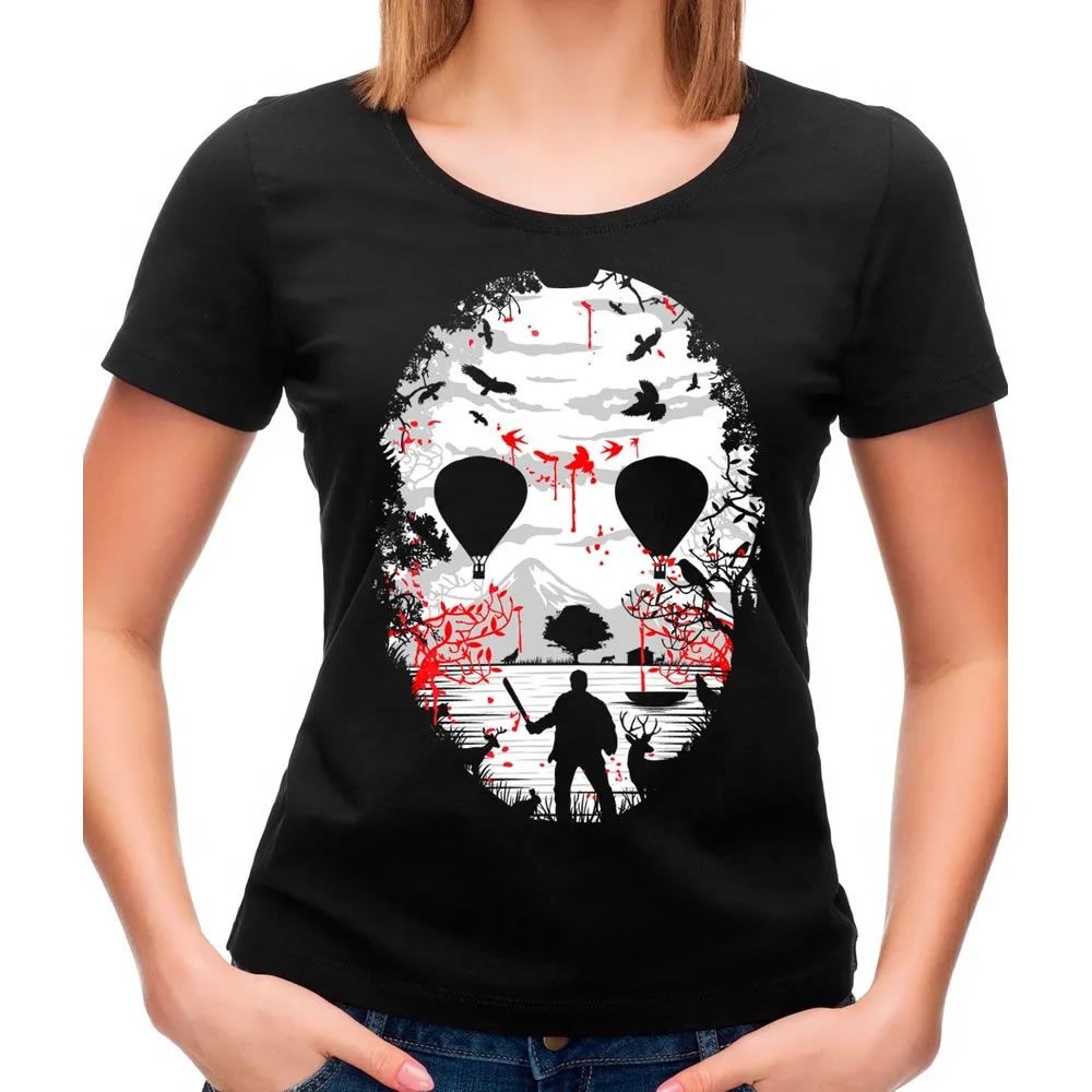 Camiseta Feminina Crystal Lake