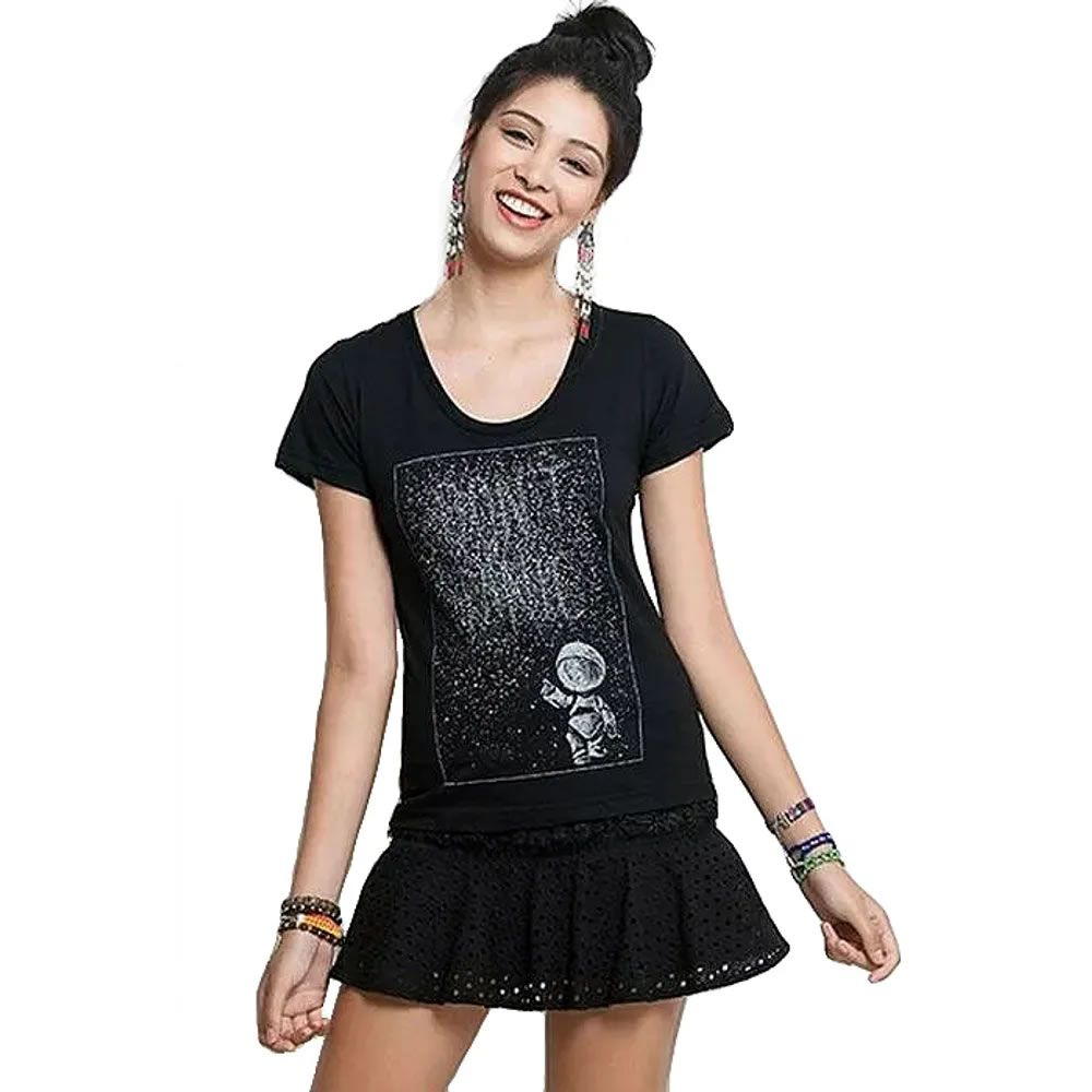 Camiseta Feminina Don't Panic