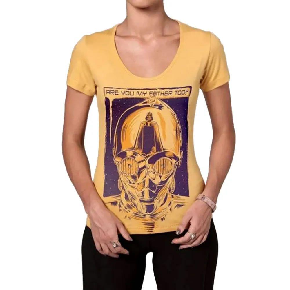 Camiseta Feminina Droid, l 1m Your Father
