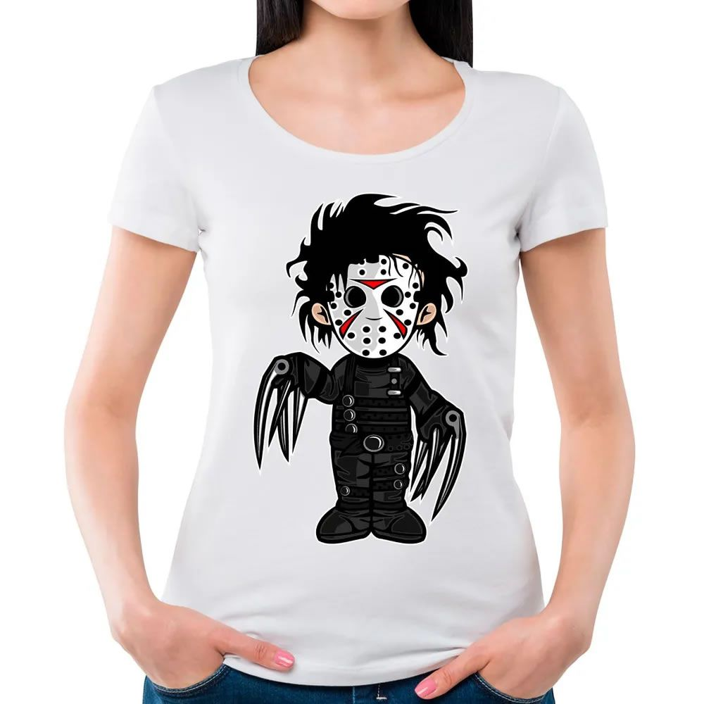 Camiseta Feminina Edward Branca