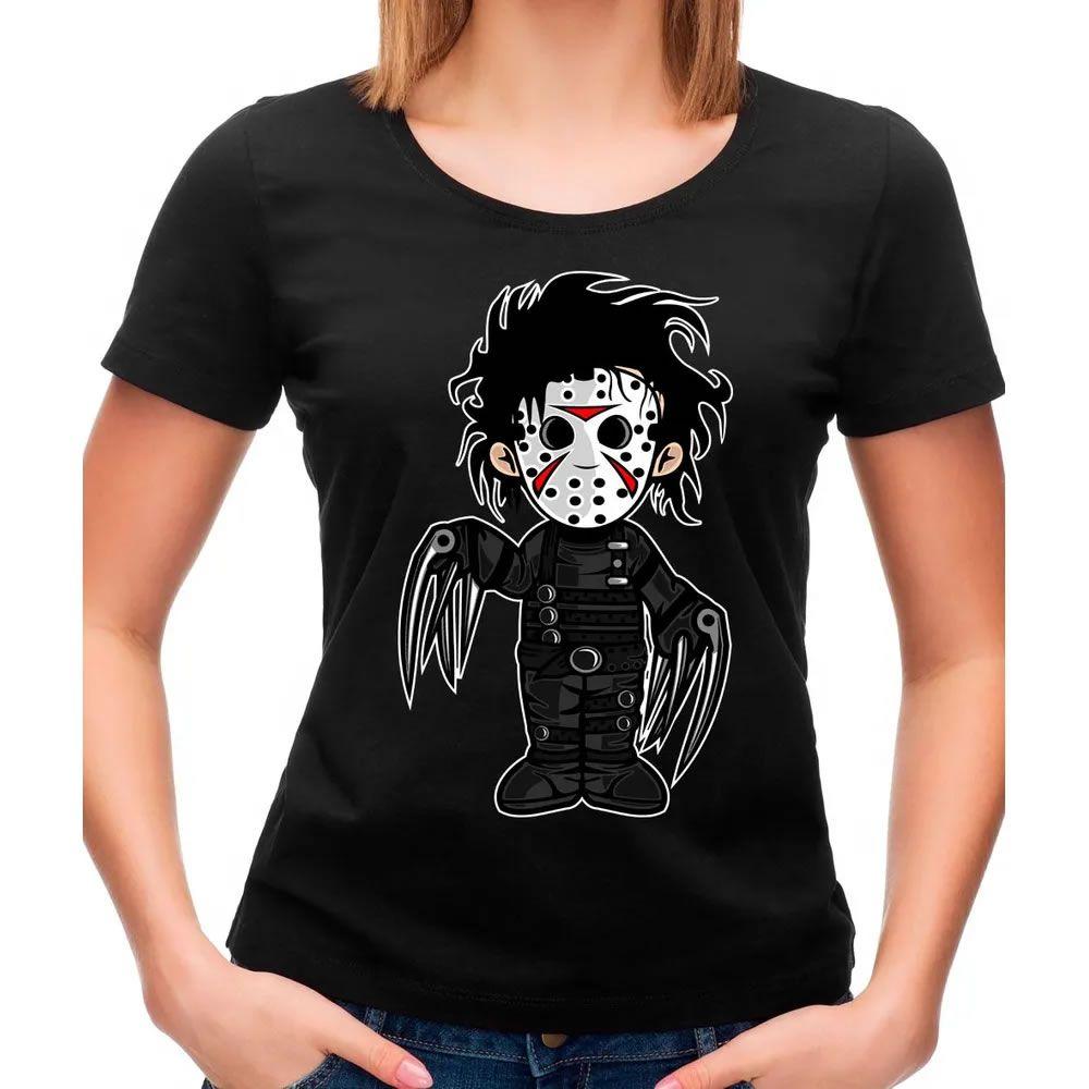 Camiseta Feminina Edward Preta