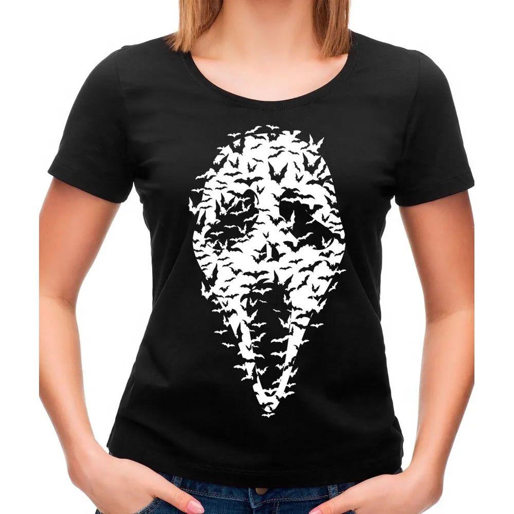 Camiseta Feminina Ghost Face Bats