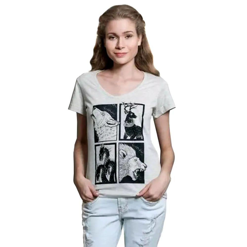 Camiseta Feminina Guerra dos Tronos