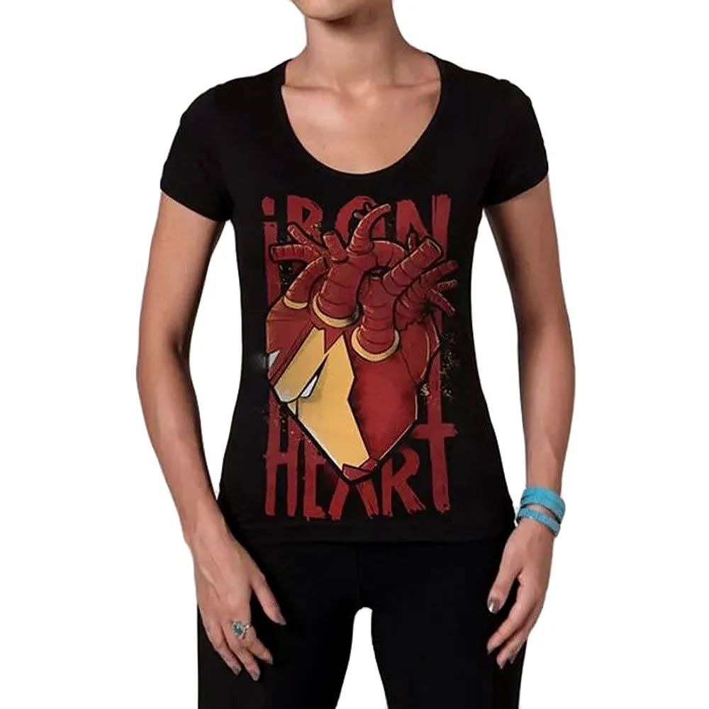 Camiseta Feminina Ironheart
