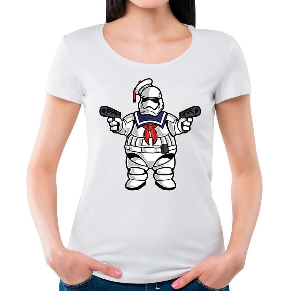 Camiseta Feminina Marshmallow Trooper Branca