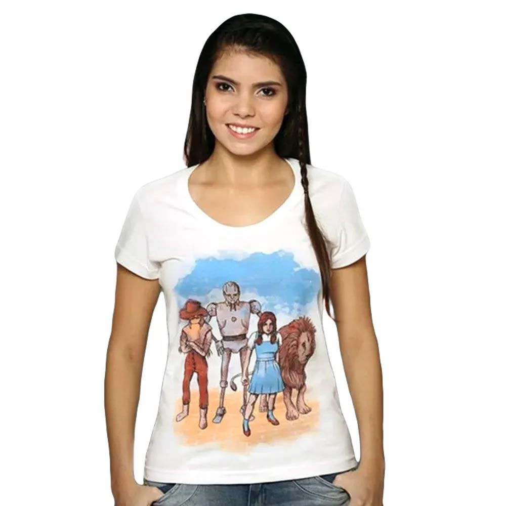 Camiseta Feminina o Mágico de Oz
