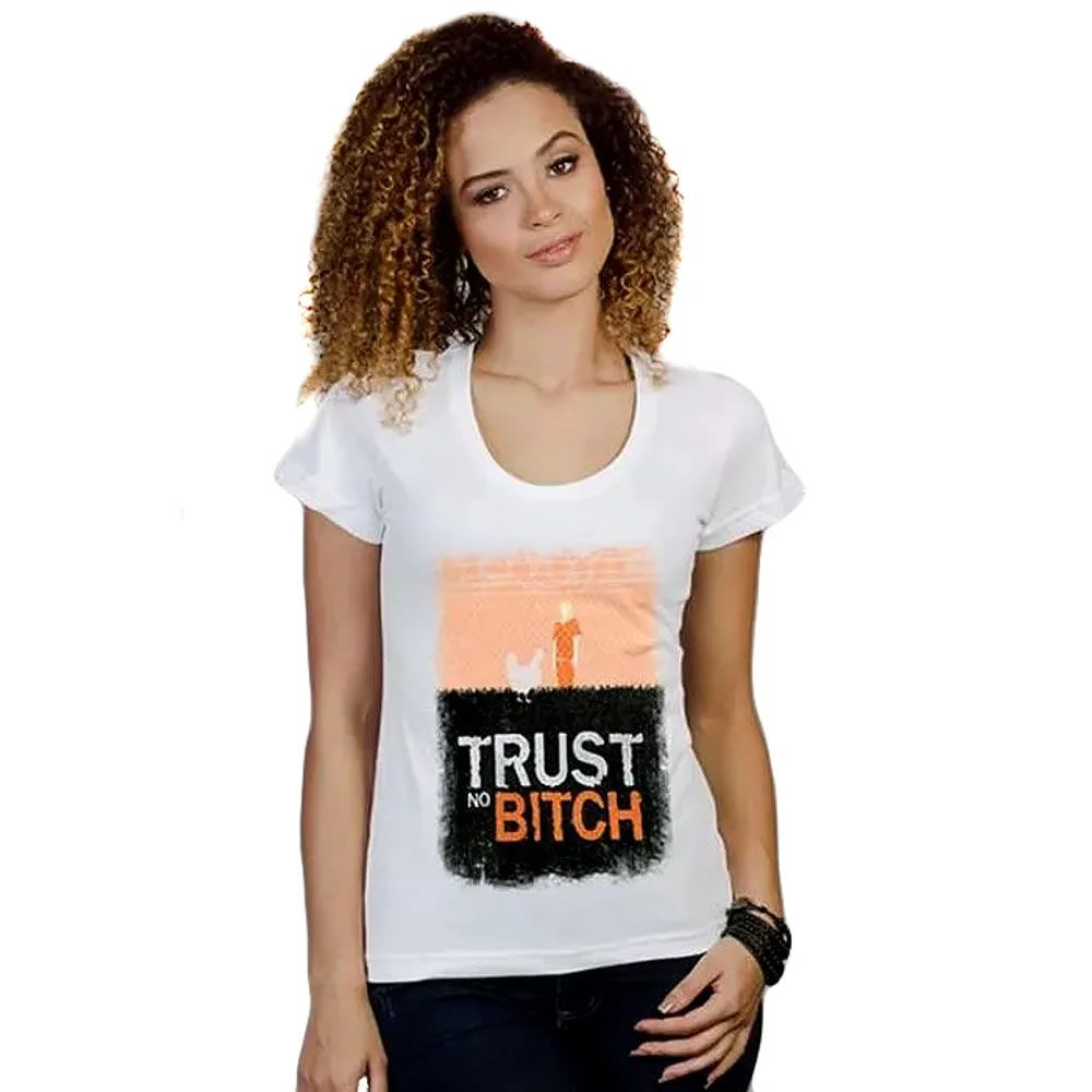 Camiseta Feminina Orange