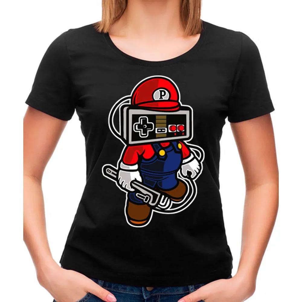 Camiseta Feminina Player Head Peto