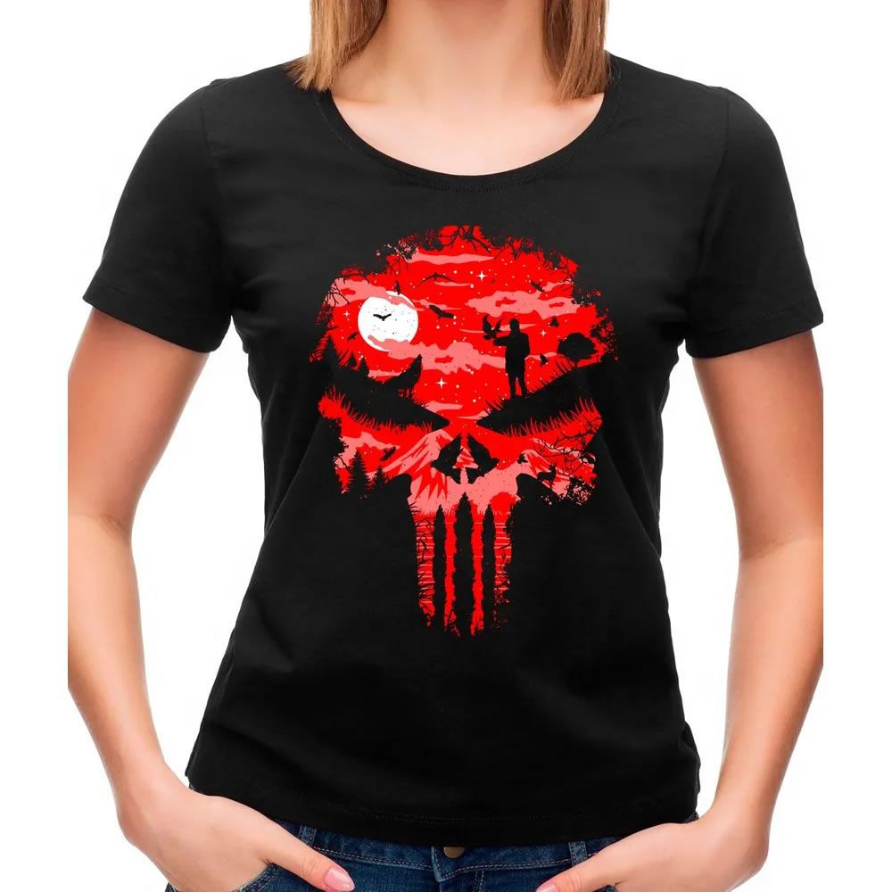 Camiseta Feminina Stand And Bleed Preta