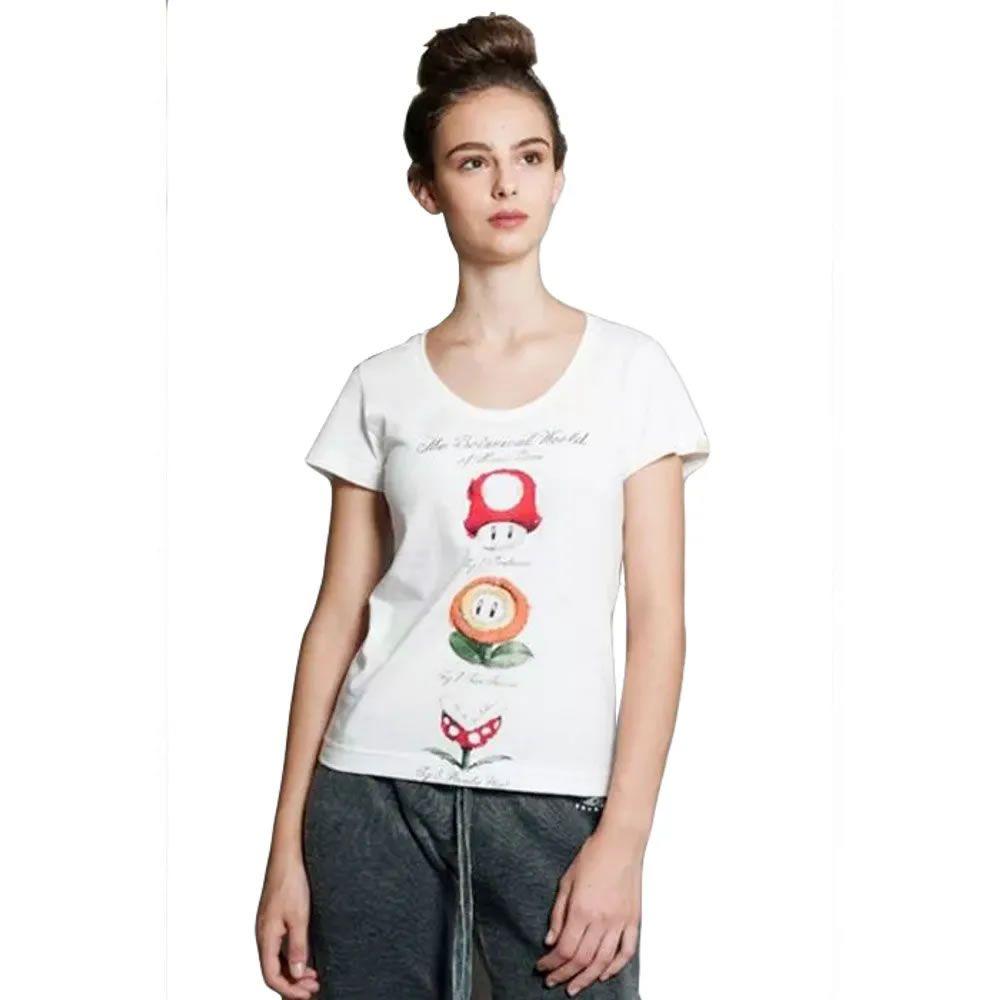 Camiseta Feminina the Botanical world of Mario