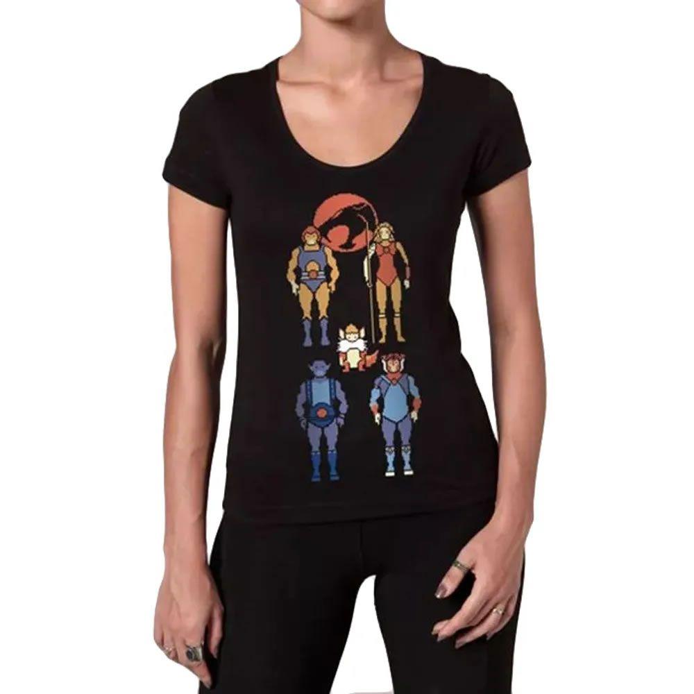 Camiseta Feminina Thundercats