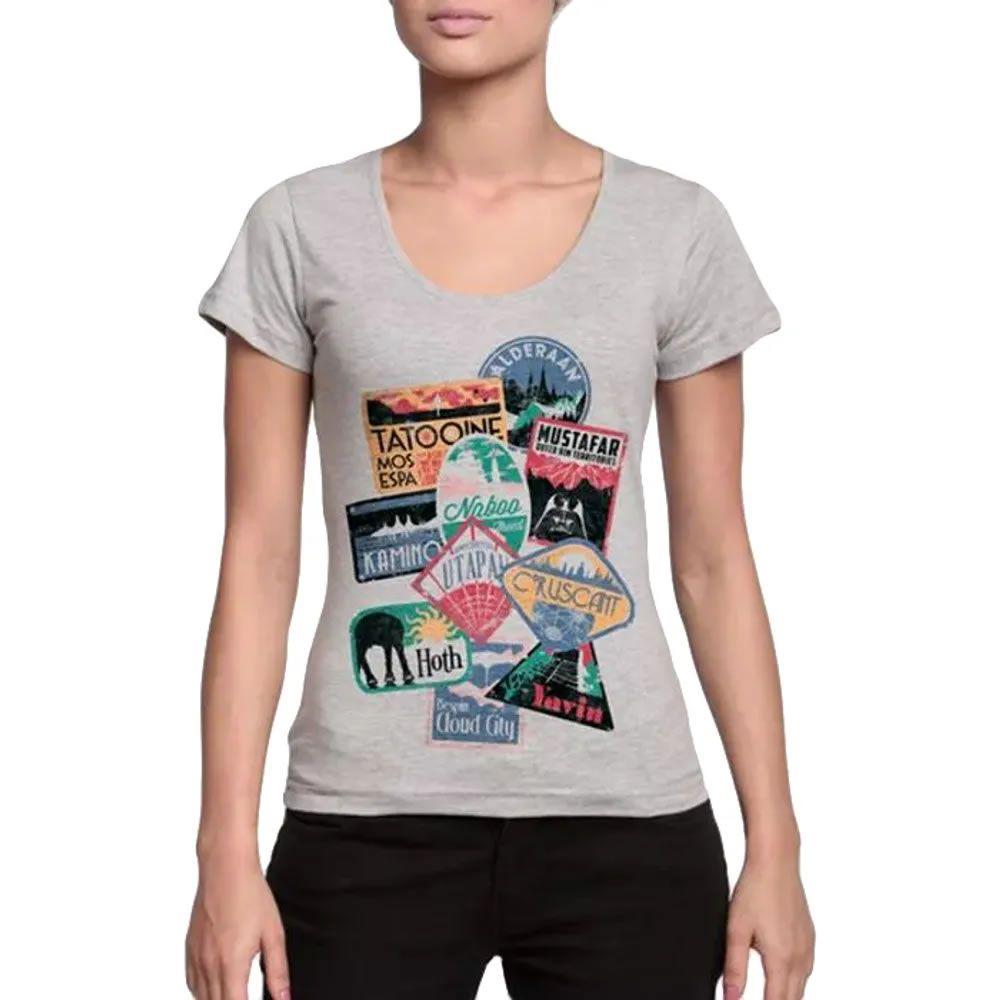 Camiseta Feminina Viajante Estelar