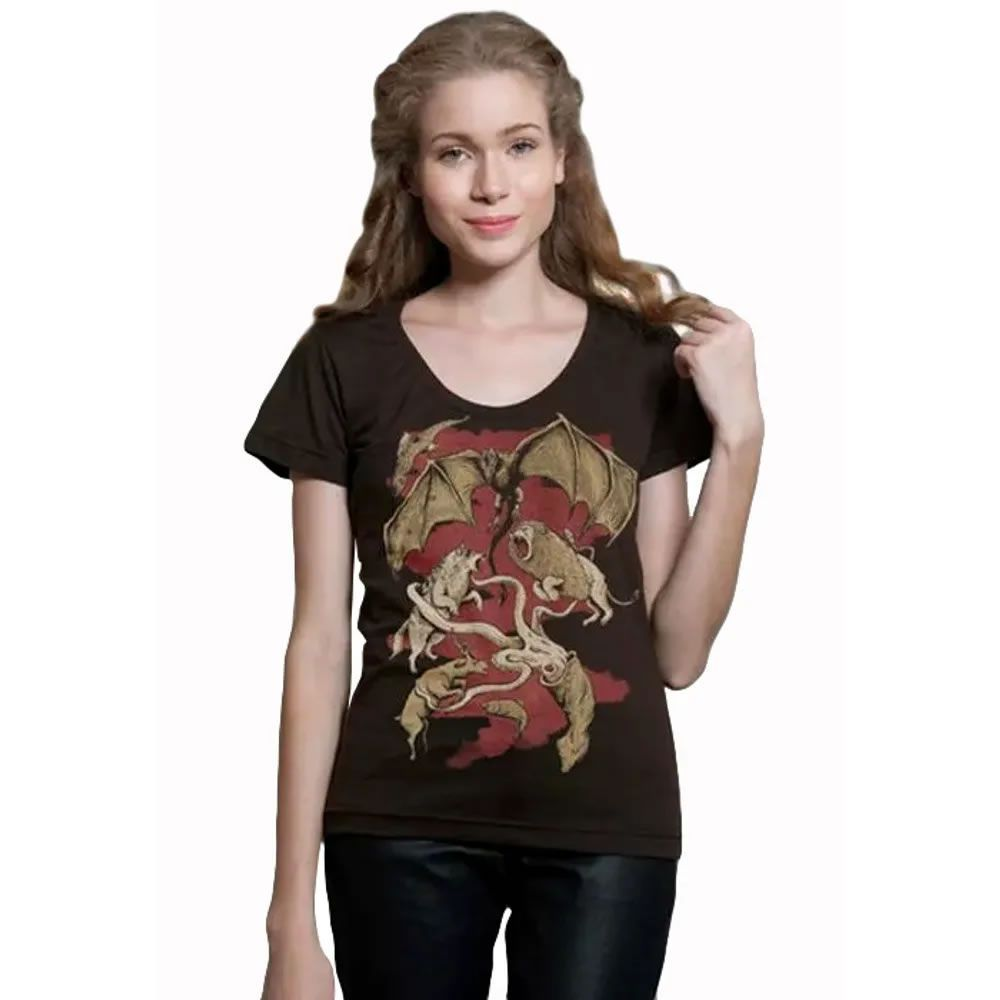 Camiseta Feminina Winter Is Coming