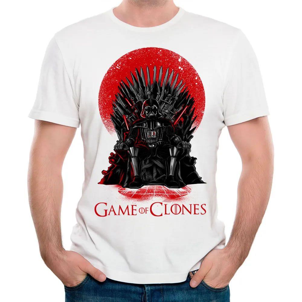 Camiseta Game of Clones Branca